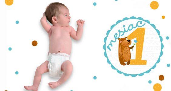 Vývoj bábätka v 1. mesiaci