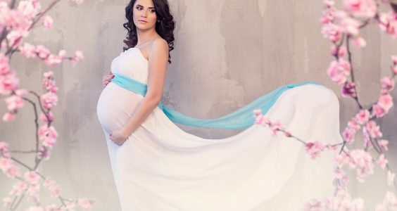 Krásna v tehotenstve