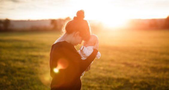 Matka s bábätkom