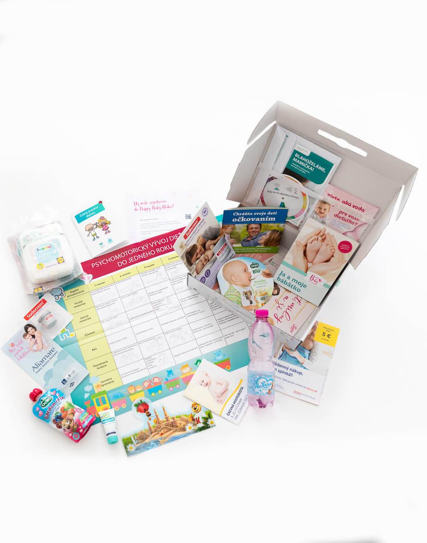 Balíček v pôrodnici Happy Baby (2)