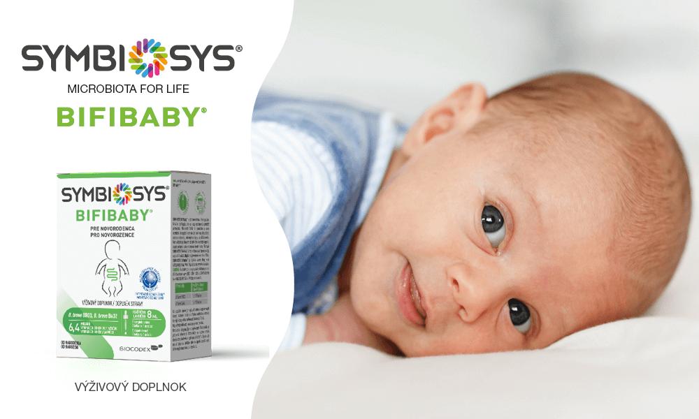 SYMBIOSYS Bifibaby® na detské koliky