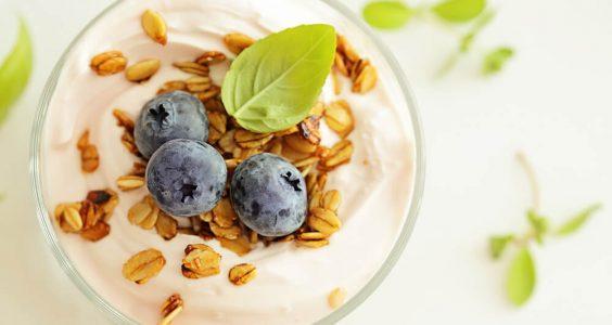granola s jogurtom