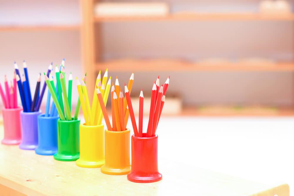 farby a deti